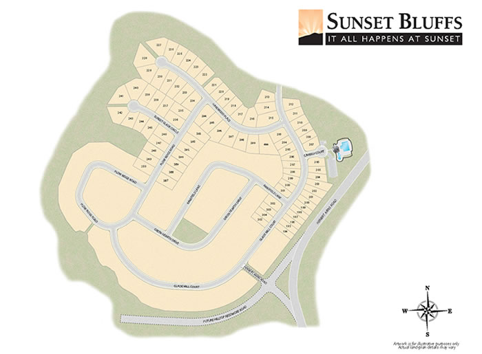 The Hamptons at Umstead Site Plan